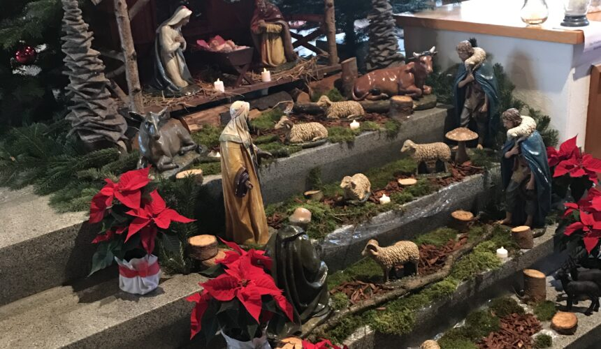 Anmeldung für die Weihnachtsgottesdienste in der Pfarrgruppe