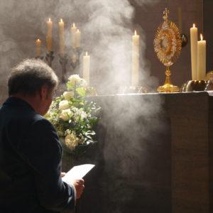 Großes Gebet in der Pfarrgruppe