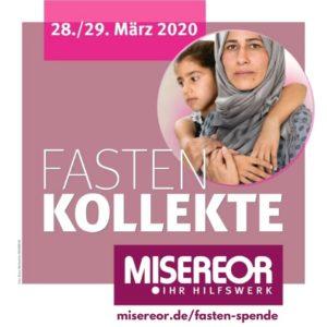 MISEREOR-Kollekte am 28./29. März 2020 – trotz Corona