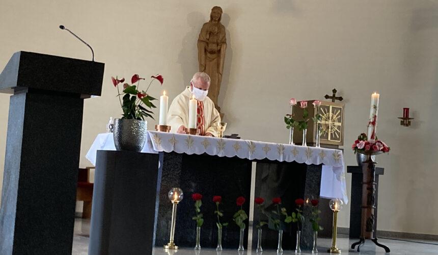 Verabschiedung Pfarrer Dr. Waclawiak in Mariä Himmelfahrt Kirche