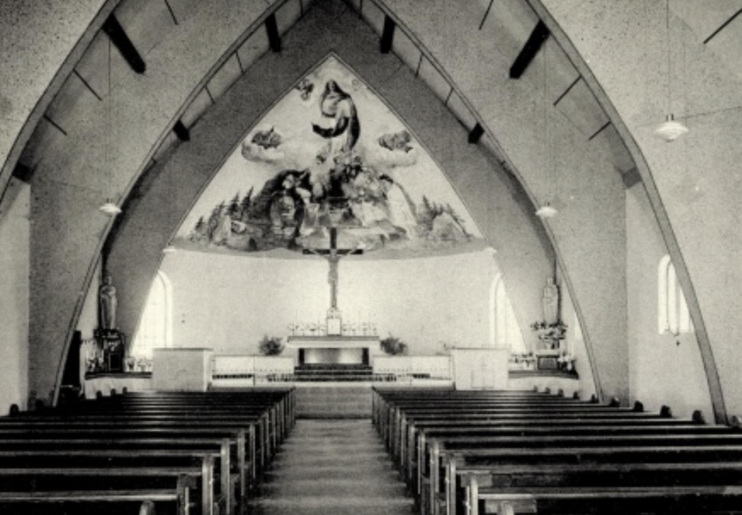 70 Jahre Grundsteinlegung der Mariä Himmelfahrt Kirche in Gambach