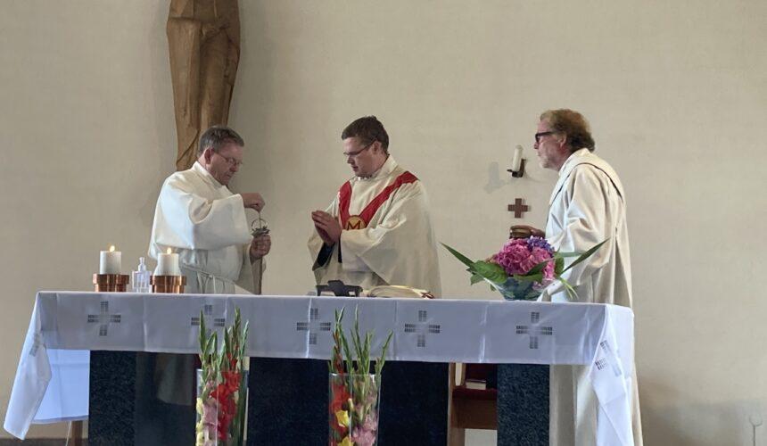 Mariä Himmelfahrt beging Patrozinium und erinnerte an 70 Jahre Richtfest