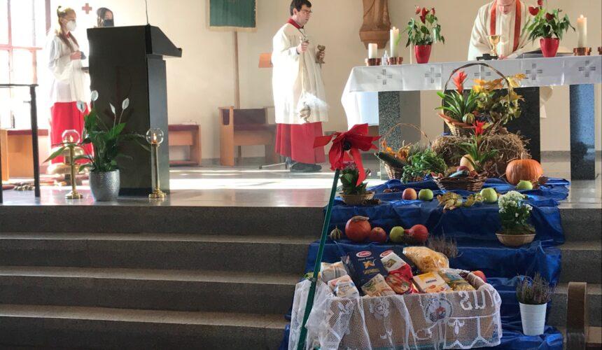 Erntedankfest – Spendenaktion für Pfarrgemeinde St. Laurentius Ahrweiler